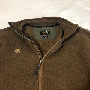 Mountain Hardwear Jackets & Coats - Mountain Hardwear Sweater Jacket Brown Mens Large
